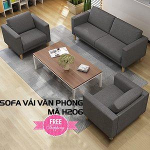 Sofa Vải Văn Phòng H-206