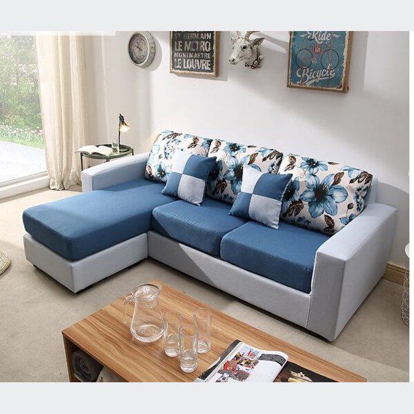 Bộ sofa mang màu sắc đơn giản nhưng mang lại sự tinh tế cao