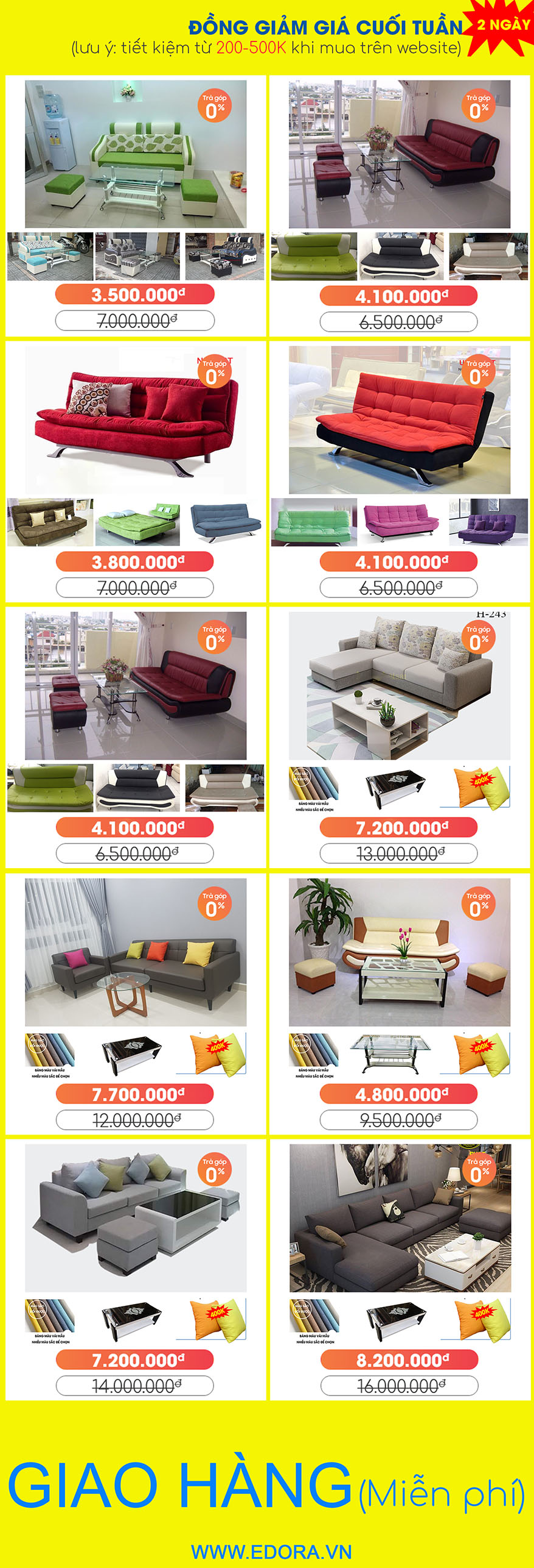 Mua ghế Sofa giá rẻ Biên Hòa, Đồng Nai tại Xưởng -50% P2