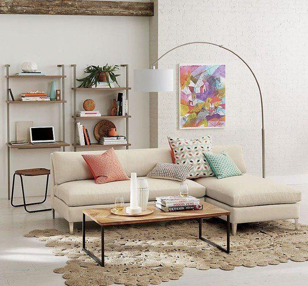 Bộ sofa Thiết nhỏ gọn, êm ái với màu sắc nhẹ nhàng bắt mắt