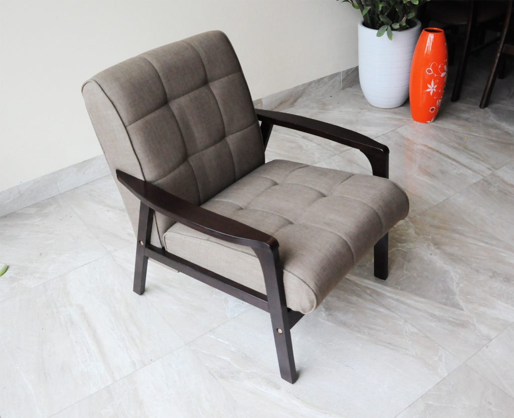 Sofa đơn hợp với phòng khách hiện đại