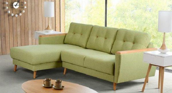 Mẫu sofa góc chữ L tinh tế
