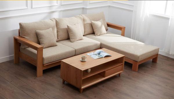 Mẫu sofa gỗ sang trọng