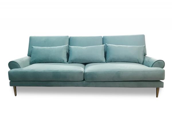 Mẫu sofa vải nỉ bắt mắt